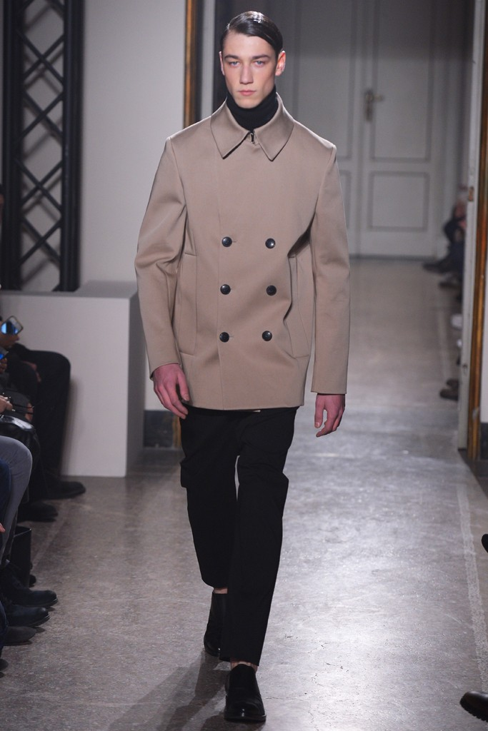 FW14 Milan Guglielmo Capone003_Harvey James(WWD.com)