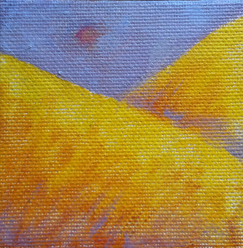 Golden Mountains (Mini-Painting as of Jan. 31, 2014) by randubnick