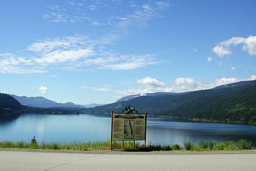 Christina Lake, Boundary Country, Kootenay Rockies, British Columbia, Canada
