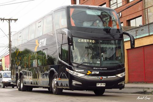 Buses ETM en Santiago | Marcopolo Paradiso 1800 DD G7 - Scania / DPCR38