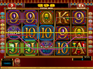 Ruby of the Nile Free Spins