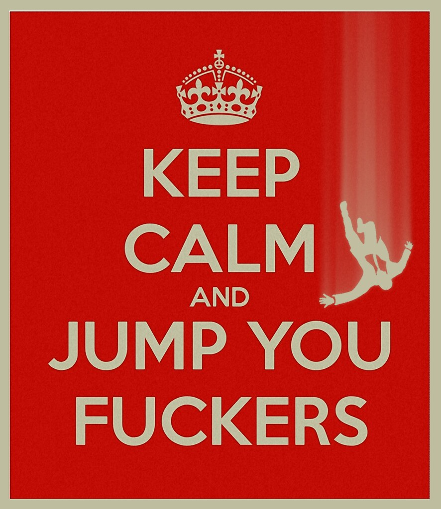KEEP CALM AND JUMP II