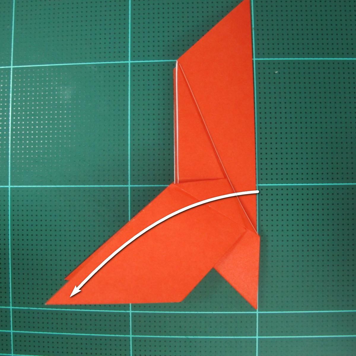 การพับกระดาษเป็นนกพิราบ (Origami pigeon) 00023