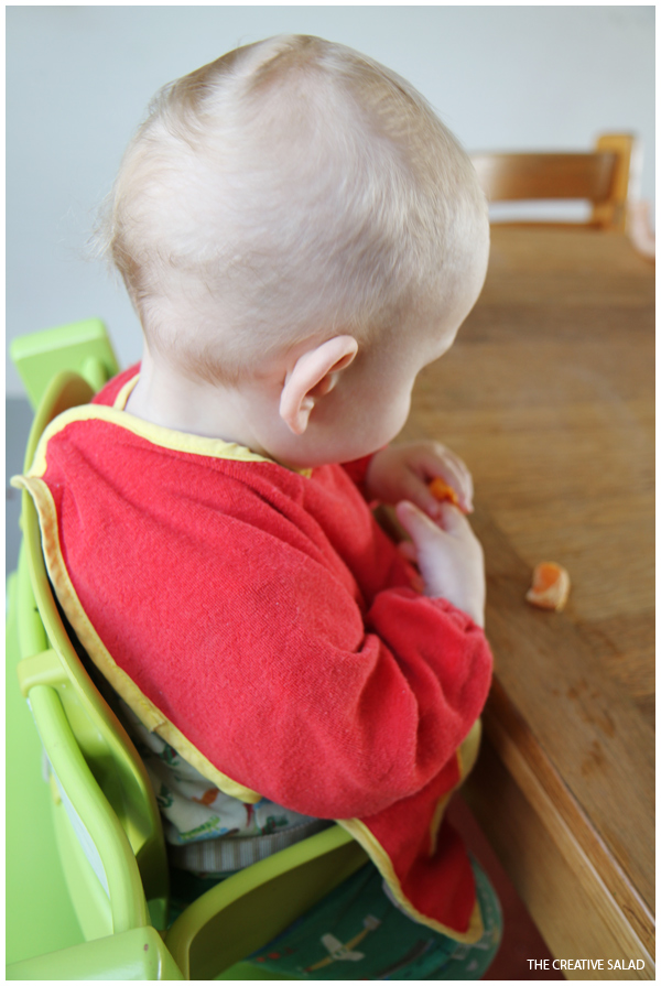 Easy Toddler Meal Cleanup aka the Best Bibs Ever!