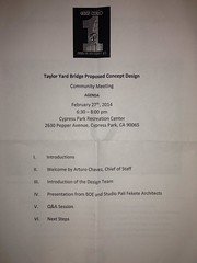 Taylor Yards bridge meeting