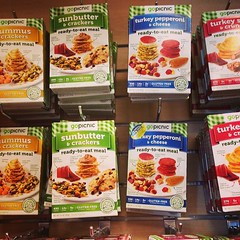 Gluten free snack packs! @ms_eight_ and I saw these at the gluten free expo and they have them at the Denver airport!