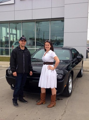 Thank you to John Quezada on your new 2014 #Dodge #Challenger from Stevie Parham and everyone at Dodge City of McKinney! by Dodge City McKinney Texas