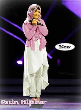 Gamis Remaja Modern Model Fatin Hijaber