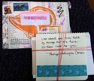 Incoming New MailArt correspondence