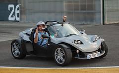 https://www.twin-loc.fr Mike Parisy au volant d'une SECMA F16 ! Circuit Paul Armagnac, Nogaro le 14 mars 2014. Image Picture Photo