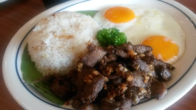 Tapsilog at IHOP