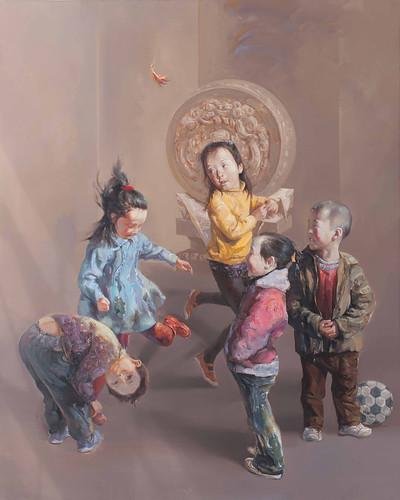 Feng Lumin - Kicking Jianzi
