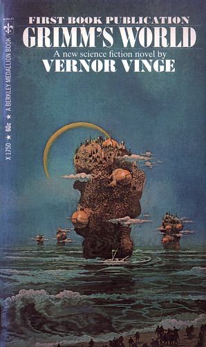 Vernor Vinge - Grimm's World (Berkley Medallion)