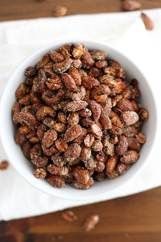 Moroccan Spiced Nuts | girlversusdough.com @girlversusdough