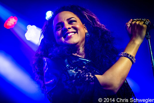 Marsha Ambrosius – 03-27-14 – Friends & Lovers Tour, Saint Andrews Hall, Detroit, MI