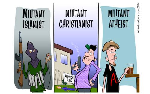 atheists militant