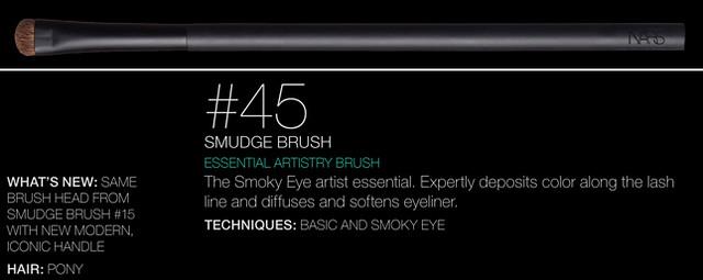 NARS Artistry Brush #45 - Smudge Brush