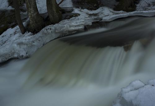Overflow of Beecher Creek Falls, Edinburg, N.Y.