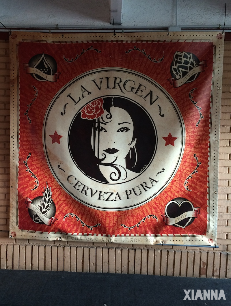 Beers La Virgen in Nomada Market Playtime Edition