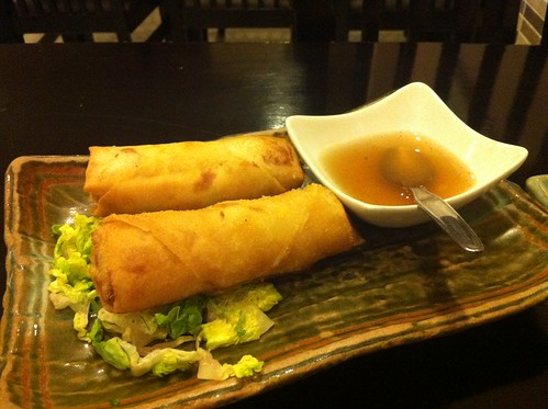 Alicante | Ming Cocina Asiática | Rollitos vegetales