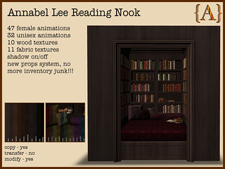 {A} Annabel Lee Reading Nook