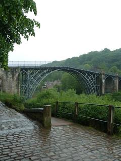 The Iron Bridge.