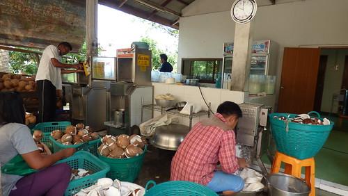 今日のサムイ島 7月9日 ヴァージンココナッツオイル製作所