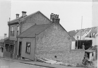 Houses in Perth Avenue identified as substandard in 1957