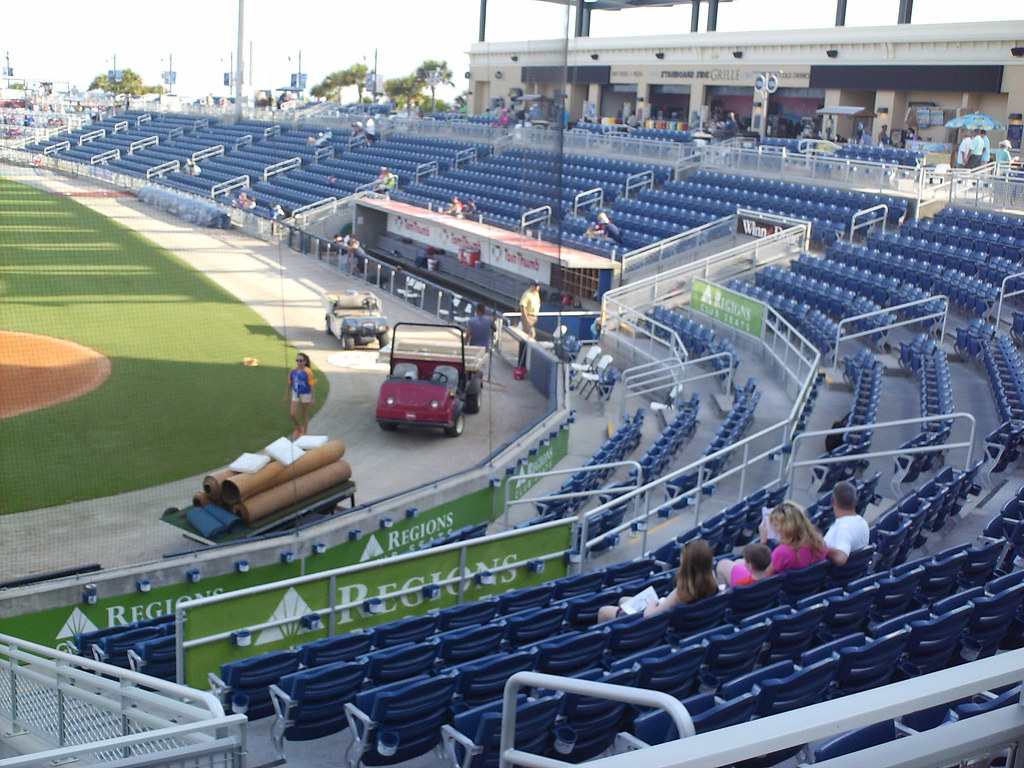 Blue Wahoos Stadium In The Ballparks