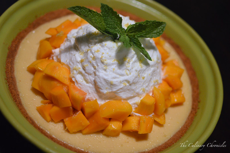June 2015 Family Dinner: Mango-Lemon Buttermilk Icebox Pie