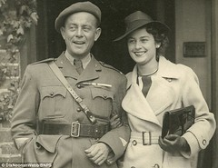 Violette Szabo and husband