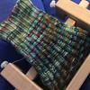 Loom knit socks in progress