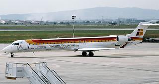 Air Nostrum EC-JNB CRJ900 Valencia(4)