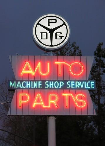 PDG AUTO PARTS - MACHINE SHOP SERVICE - Campbell, Calif.