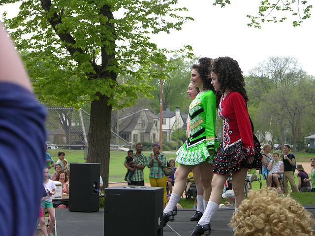 2013 Linden Hills Festival Irish dancers