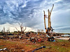 Moore, Okla., tornado destruction