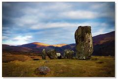 Standing Stones at Gleninchaquin County Kerry