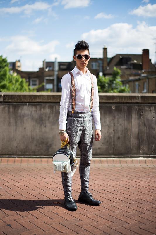 Street Style - Toni Tran, Graduate Fashion Week