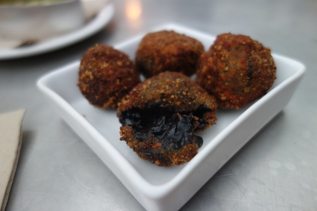 squid ink, croquettes, tapas revolution review