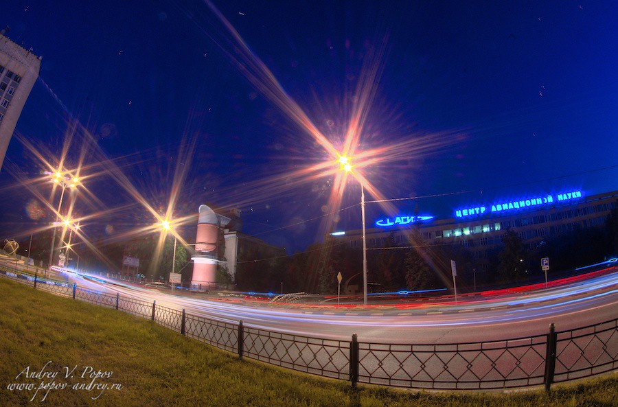 Night Zhukovsky - TsAGI #1