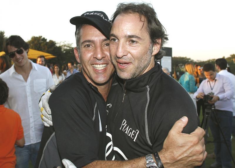 José Eduardo Kalil and his brother