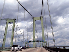driving on the delaware memorial bridge