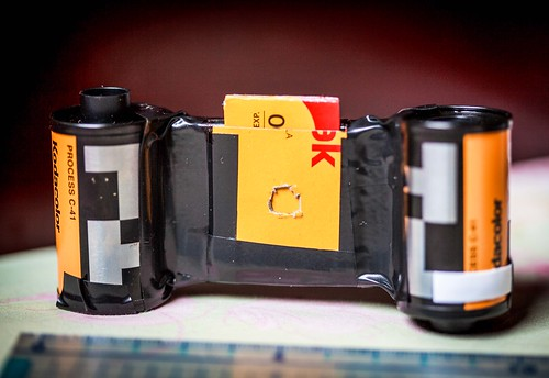 DIY matchbox pinhole camera