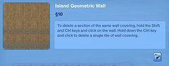 Island Geometrioc Wall 2