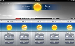 Heat wave in Las Vegas by Julie70