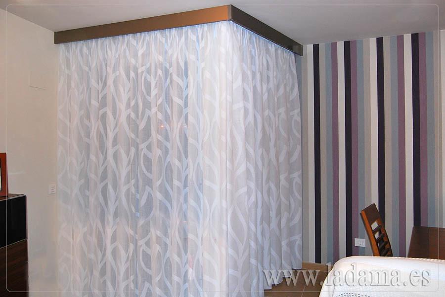 Fotograf as de cortinas modernas la dama decoraci n for Cortinas modernas 2016