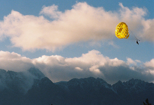Parasailer, Queenstown, New Zealand, 2013