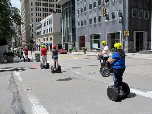 Segway tour group by Coyoty