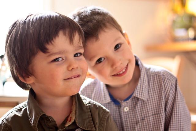 Manu et Liam