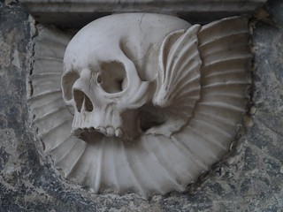 Wootton Wawen, St Peters, Tomb detail
